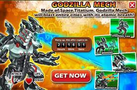 Godzilla Mech Offer