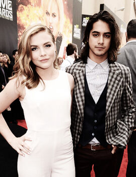Maddie and avan