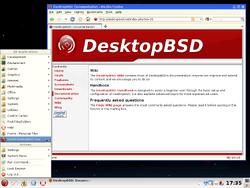 DesktopBSD Screenshot