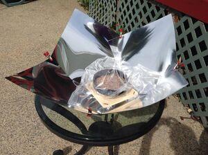 Sheela Kiiskila uses Copenhagen Light cooker, 9-9-14
