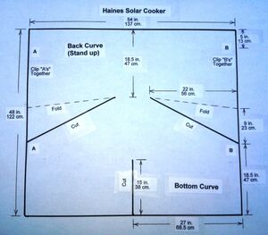 Template for Haines Cooker