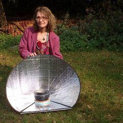 Fig. 11. Margot Kotowska cuisine au soleil