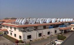 Shirdi roof collector array