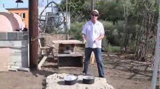 Prototype Cob Solar Box Cooker (Tests)