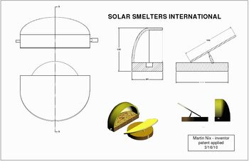Nix solar smelter design