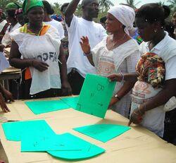 Pearson Ghana, March 2010
