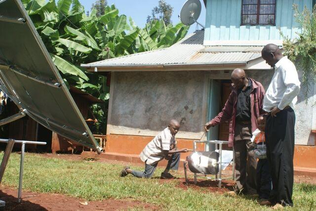 File:Kenya Solar Concentrator 2.jpg