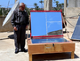 Palestinian, Khaled Bashir, DIY solar ovens, 6-29-15