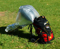 Solar balloon cooker 1