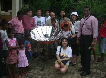 Sarvodaya solar demo 1