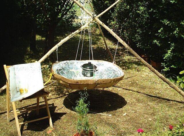 File:Tripod solar cooker.jpg
