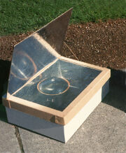 Minimum Solar Box Cooker Photo