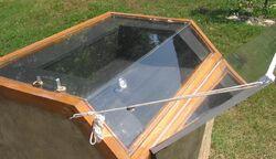 Cob solar oven 1