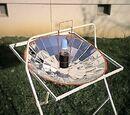 Pasteurisation solaire de biberons