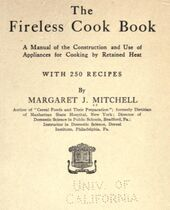 The Fireless Cook Book - Mitchell