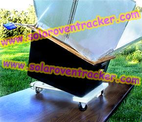 Solar oven tracker