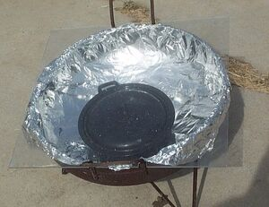 Cauldron Solar Cooker