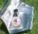 Cuiseur-valise solaire