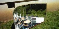 Kuchenka solarna cylindryczno-paraboliczna
