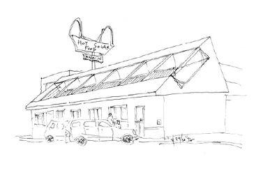 Joel Goodman solar restaurant concept