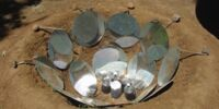 Parabolic Earthen Solar Cooker