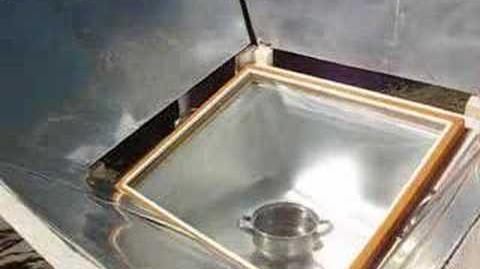 Stage de cuisson solaire a Retamo