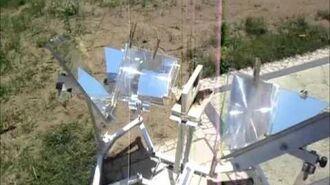 MUMA Solar Cooker Assembly test