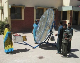 Simply Solar Scheffler reflector 8-11