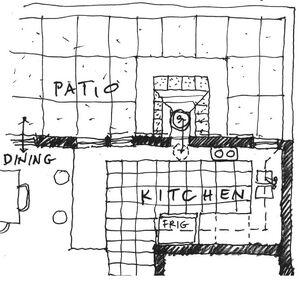 Joel Goodman - Thru wall oven kitchen plan, 10-1-11