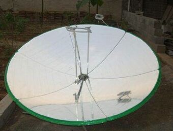 Taida New Energy parabolic tracking cooker