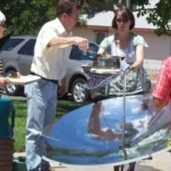 Solar Cooking Class for Dixie State College Community Ed. Program