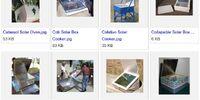 Solar box cooker designs