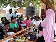 Training instructors Nakivale refugee settlement - September 2016