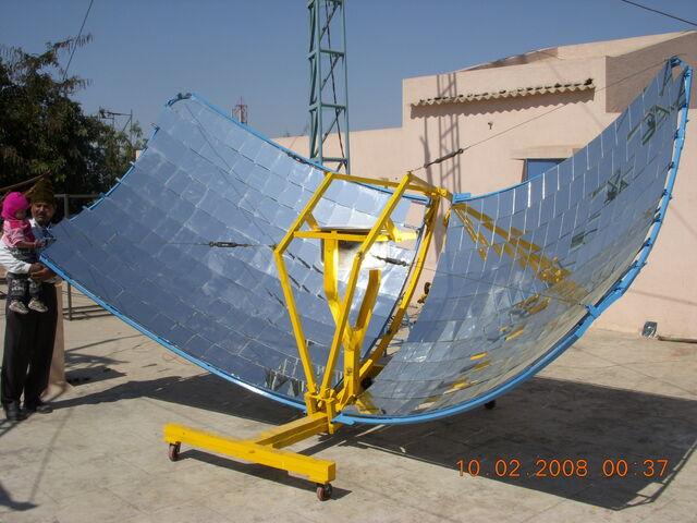 File:Butterfly Community Solar Cooker.jpg