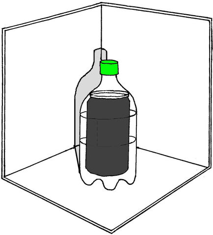 File:Bottle thermos on reflector.jpg