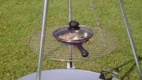 Solar Grill So Amazing You Have To See It To Believe It!