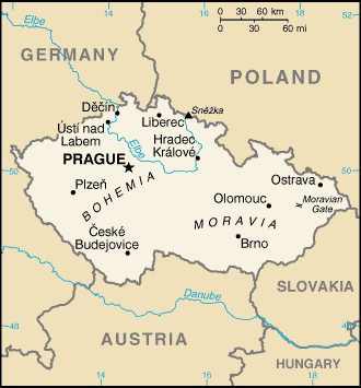 Czech Rep Ez-map