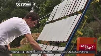 Social Entrepreneurs Create a Solar Cooker in South Africa
