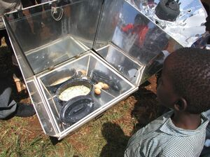 Nairobi cooking demonstration 3-09