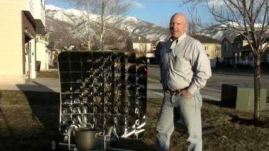Andersen Parabolic Solar Cooker