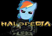 MLP Halopedia logo