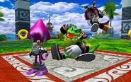 SH Turtle Shell Chaotix Victory
