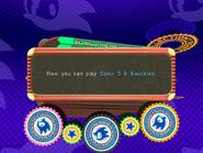 Sonic 3 & Knuckles unlocked