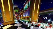 Sonic's suprise attack!
