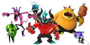 Deadly Six Group Art