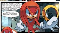 Knuckles and Warp Ring