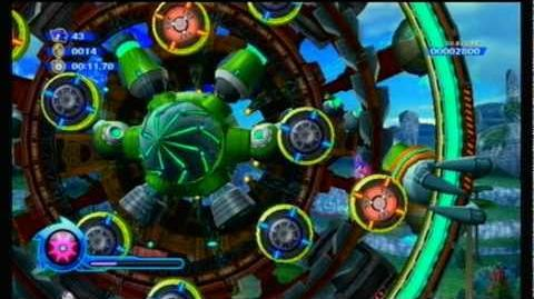 Sonic Colors - S Rank - (Boss) Planet Wisp
