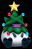 Sonic Runners Christmas Yeti