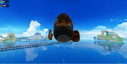 Bomb in Sonic Dash