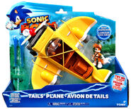 Tails plane toy